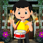 Games4King Drummer Boy Rescue