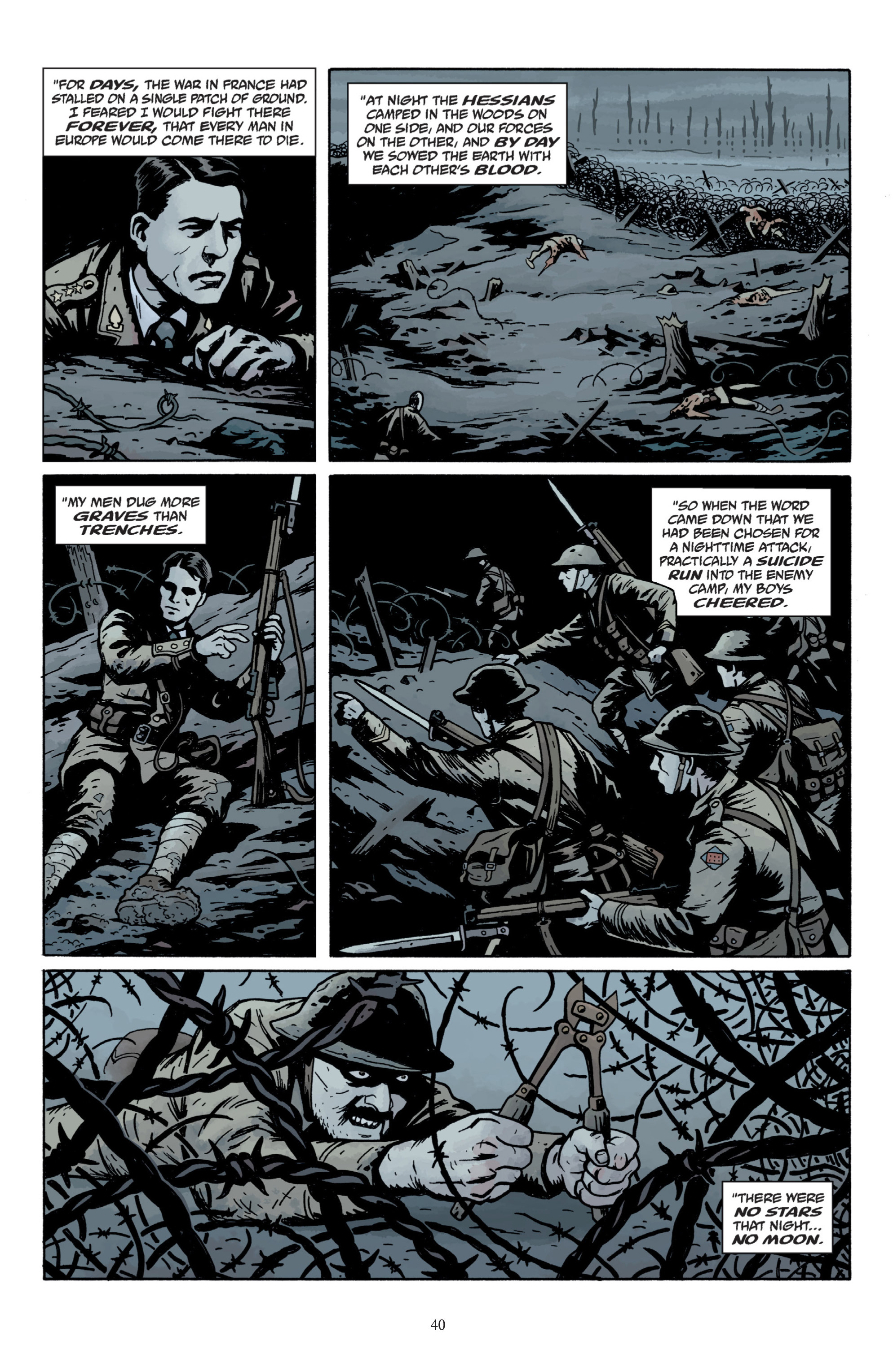Read online Baltimore: The Plague Ships comic -  Issue # TPB - 42