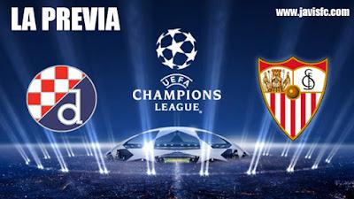 Previa Dinamo Zagreb - Sevilla FC