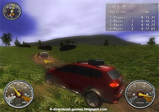 لعبة سباق السيارات الجيب Extreme 4x4 Racing