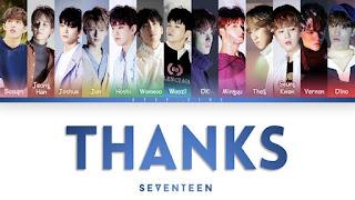 Lirik Seventeen Thanks Terjemahan