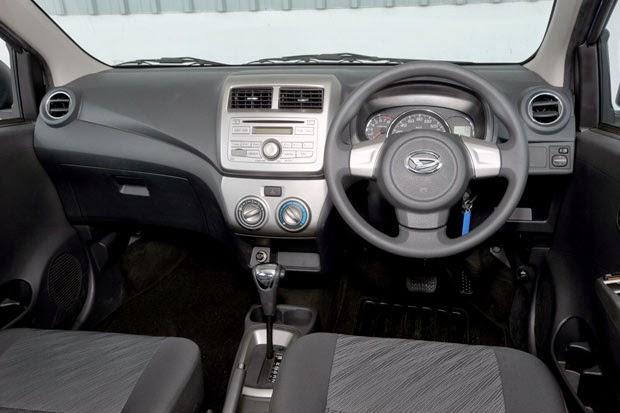 Gambar Interior Mobil Daihatsu Ayla 2014