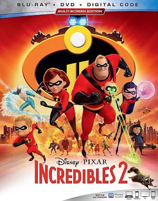Incredibles 2 Blu Ray