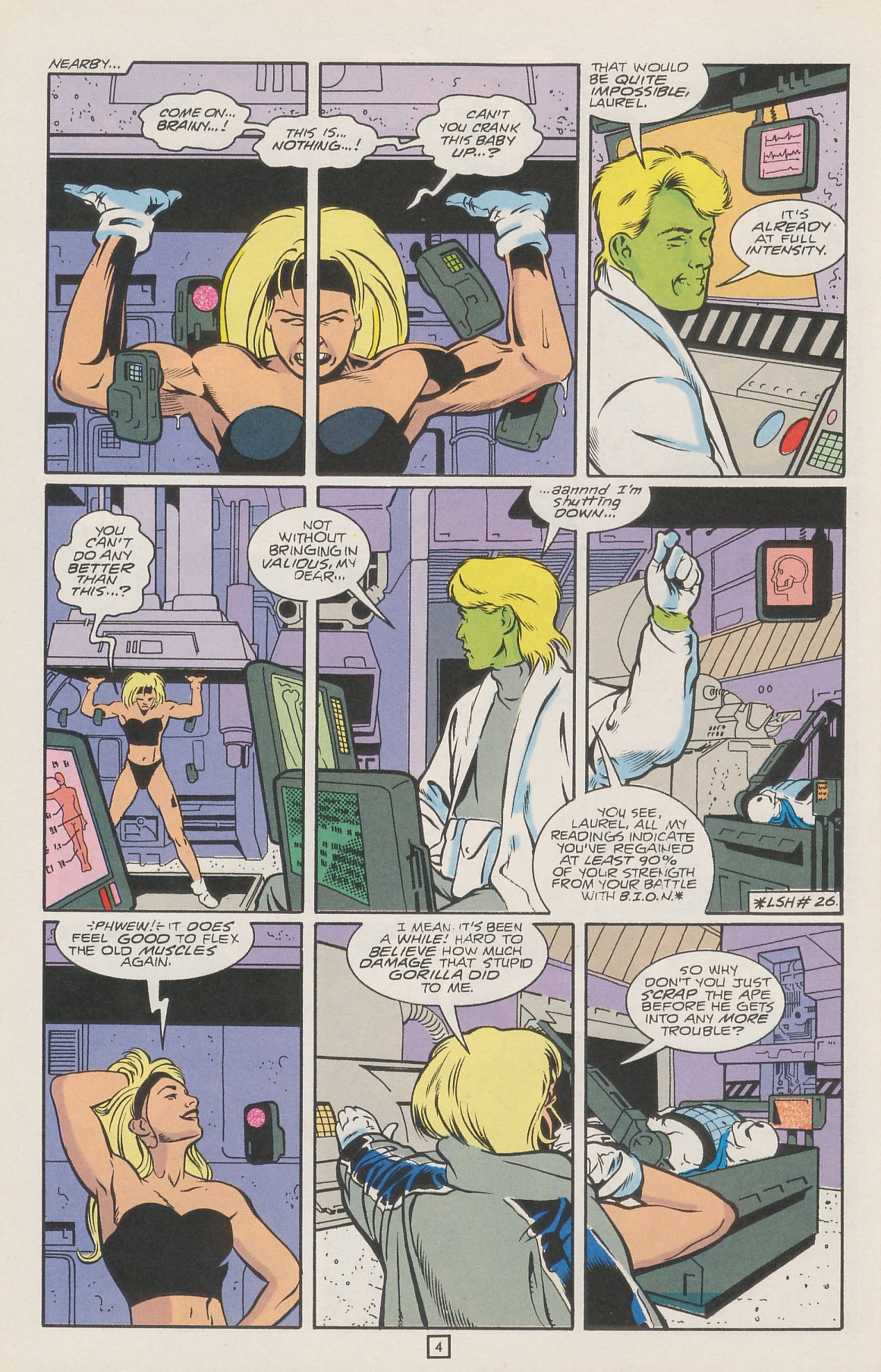 Legion of Super-Heroes (1989) 42 Page 5