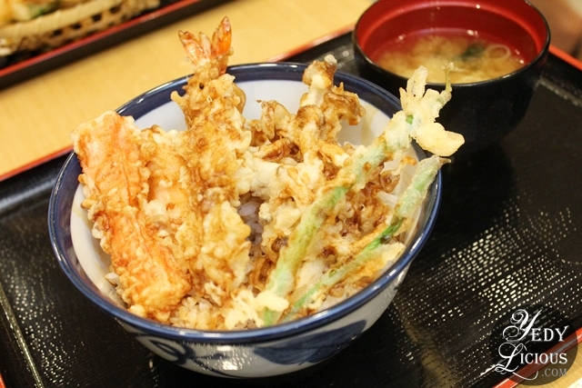 Tendon Rice Bowl Tempura Tendon Tenya SM Megamall