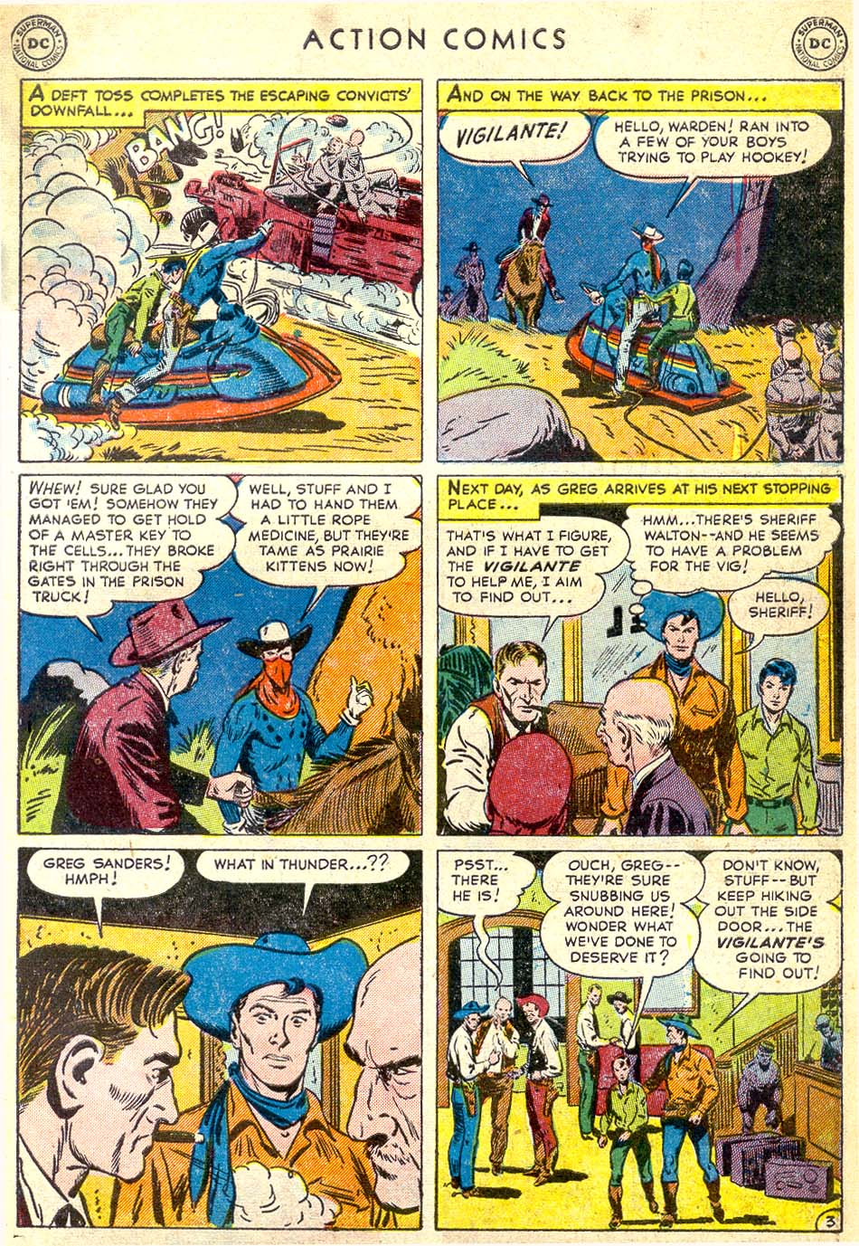 Read online Action Comics (1938) comic -  Issue #164 - 35