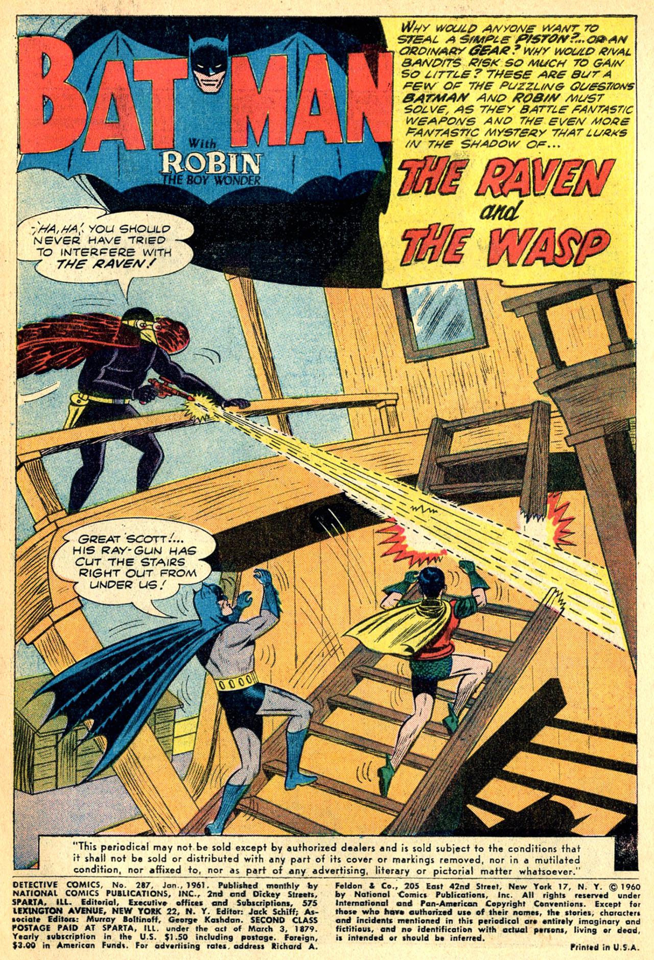 Detective Comics (1937) 287 Page 2