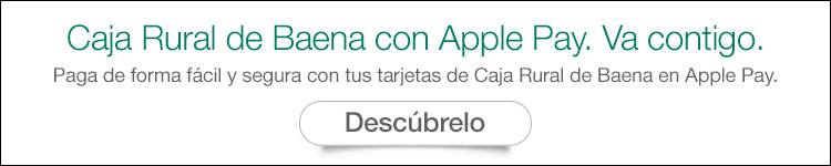 CAJA RURAL BAENA CON APPLE PAY