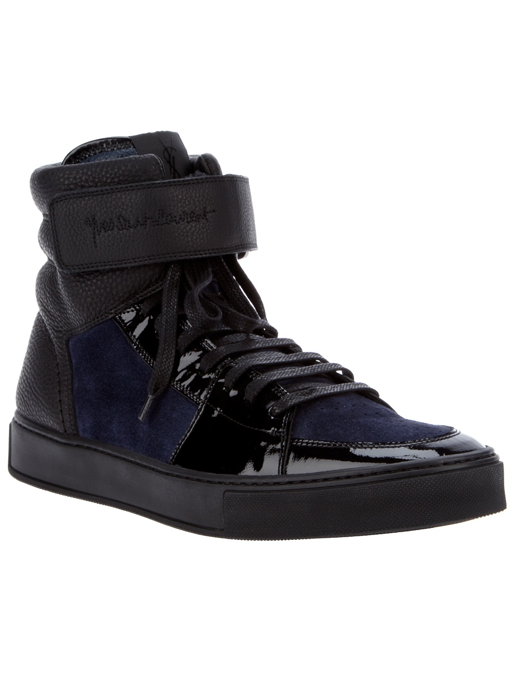 c2ed2e86b0 For the Men: Yves Saint Laurent Malibu Hi Top Sneakers (@YSL) | looty
