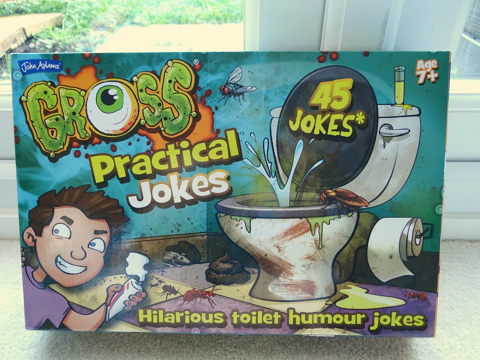 gross jokes, kids pranks, gross practical jokes