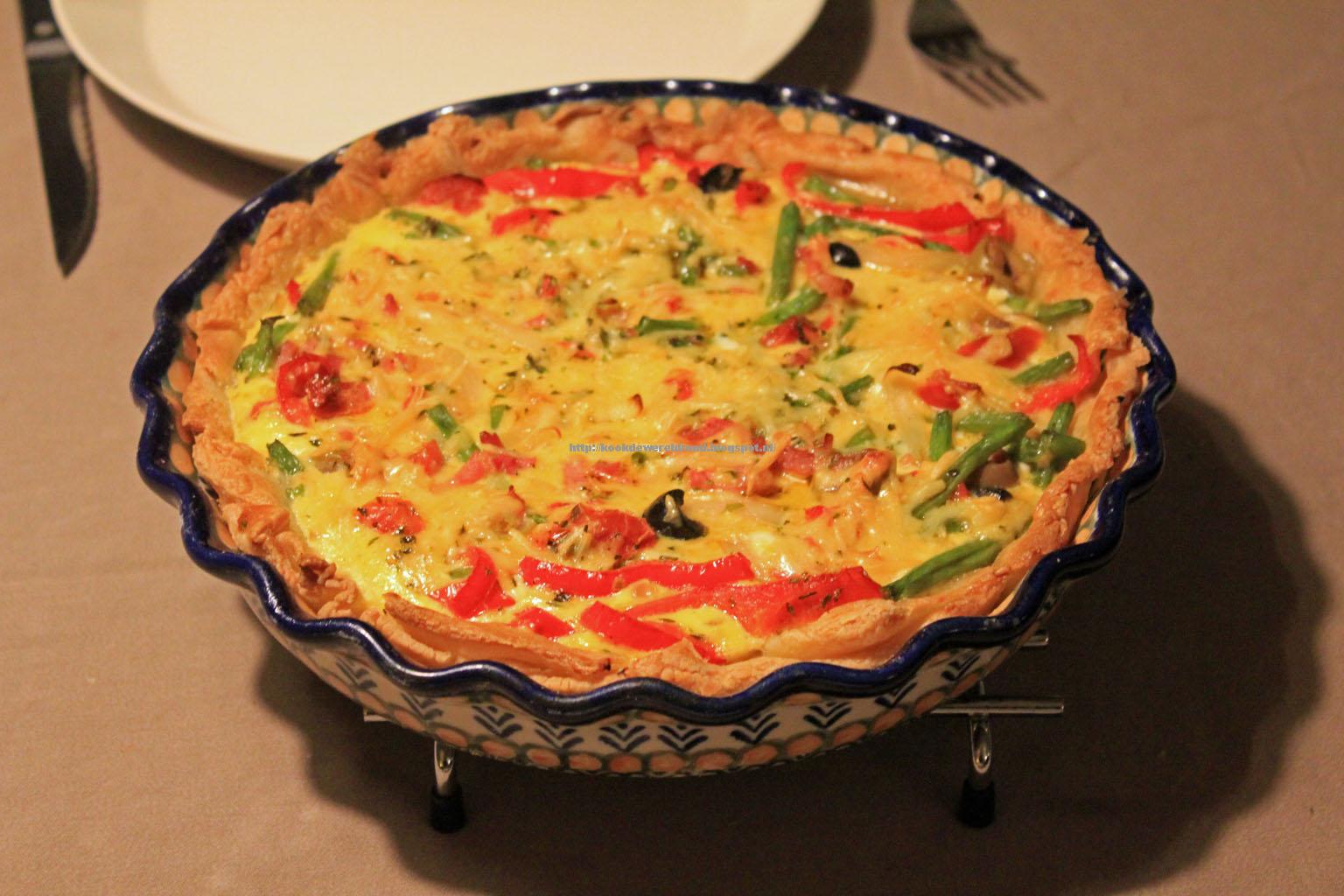 glutenvrije hartige taart Kook de wereld rond!: Hartige taart met bodem van glutenvrij  glutenvrije hartige taart