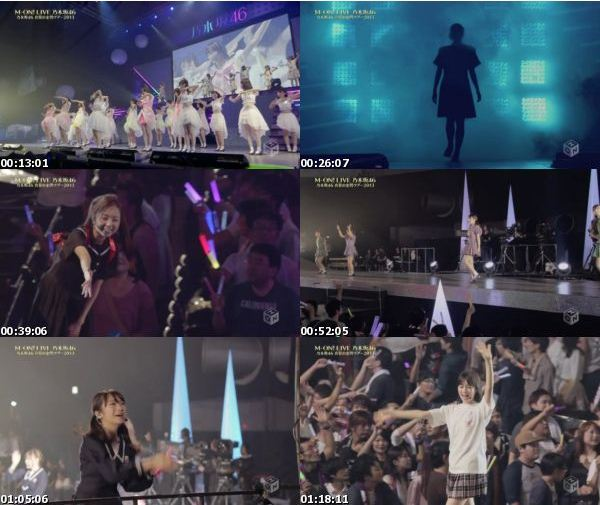 [TV-Variety]乃木坂46 – M-ON! LIVE Nogizaka46 Manatsu no Zenkoku Tour 2013 (M-ON! 2016.11.05)