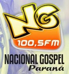 Rádio Nacional Gospel FM de Maringá e Mandaguari PR ao vivo