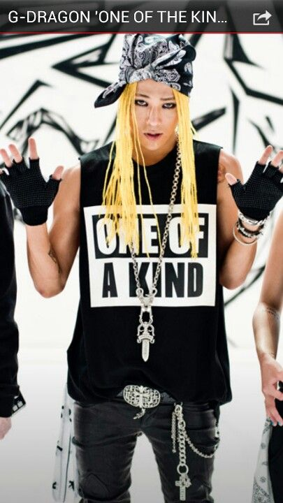G-Dragon One Of A Kind T-Shirt