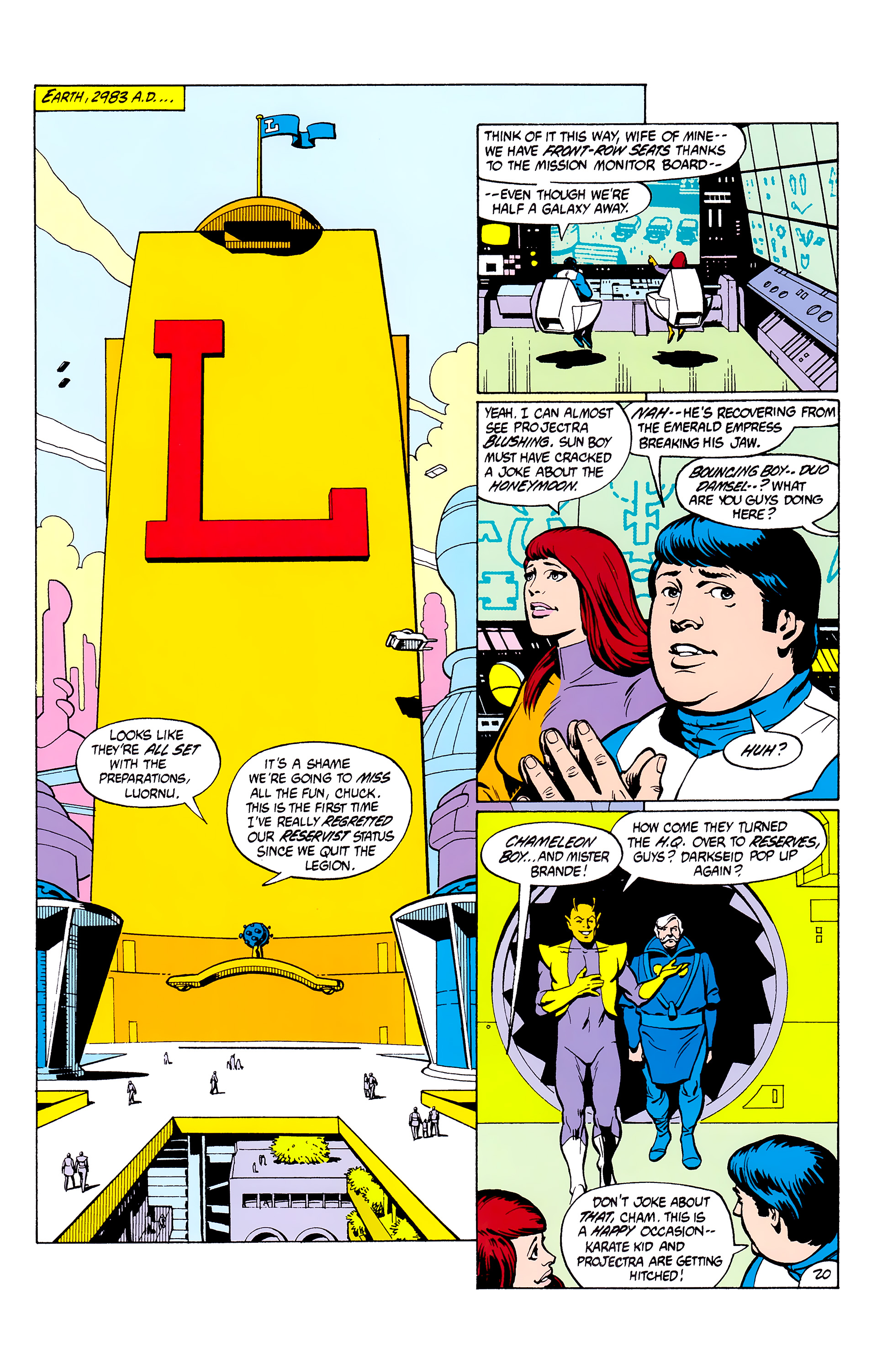 Legion of Super-Heroes (1980) _Annual_2 Page 20