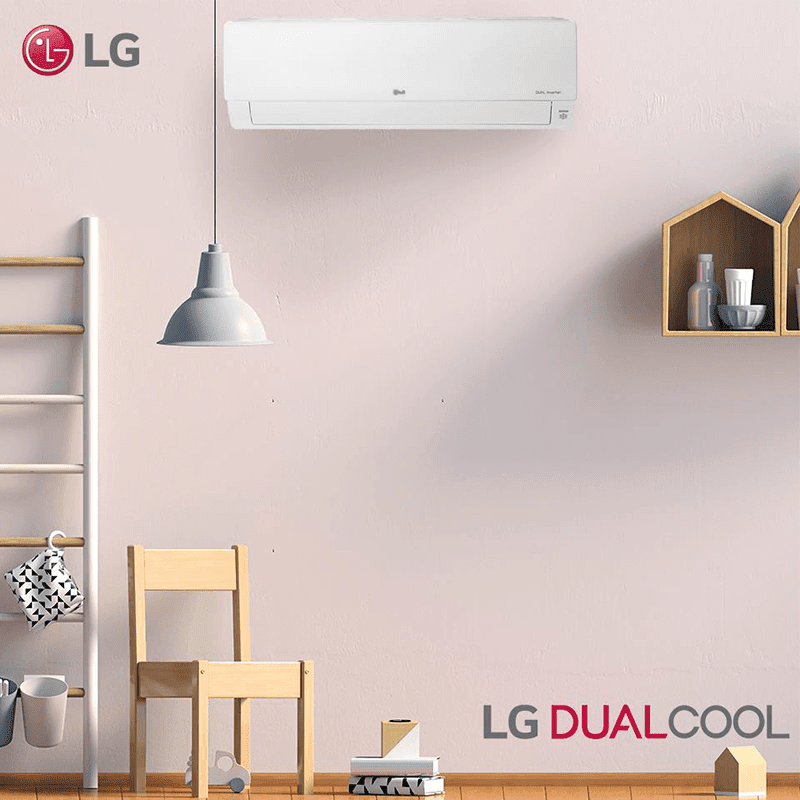 LG offers free installation for newly purchased LG Dual Cool Airco