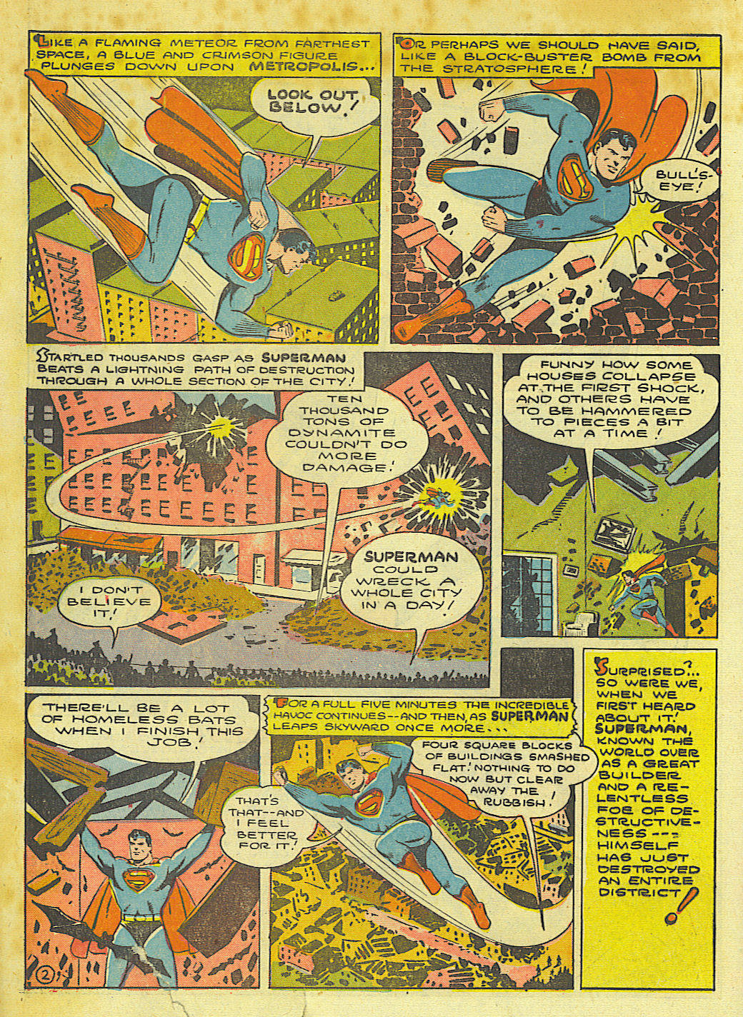 Read online Action Comics (1938) comic -  Issue #67 - 4