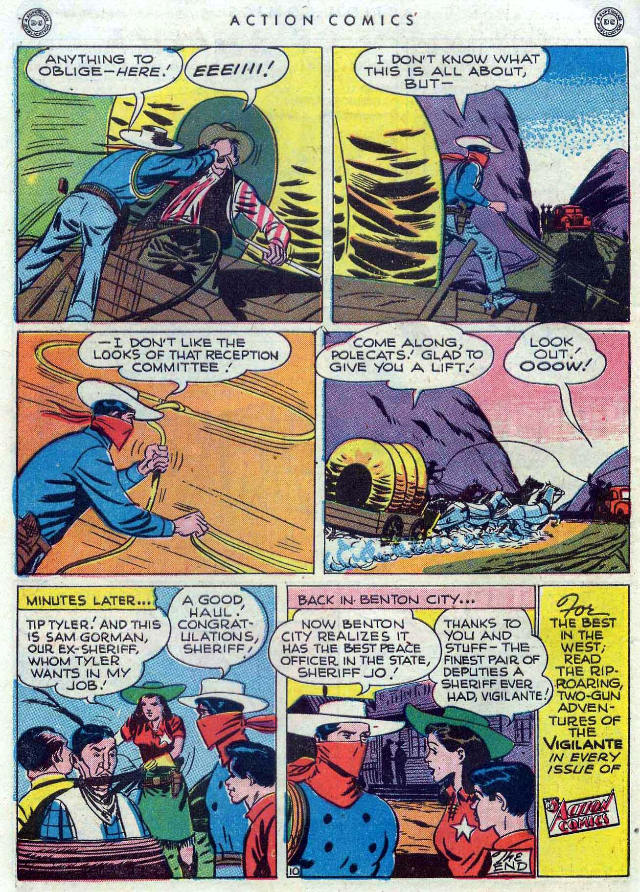 Read online Action Comics (1938) comic -  Issue #110 - 38