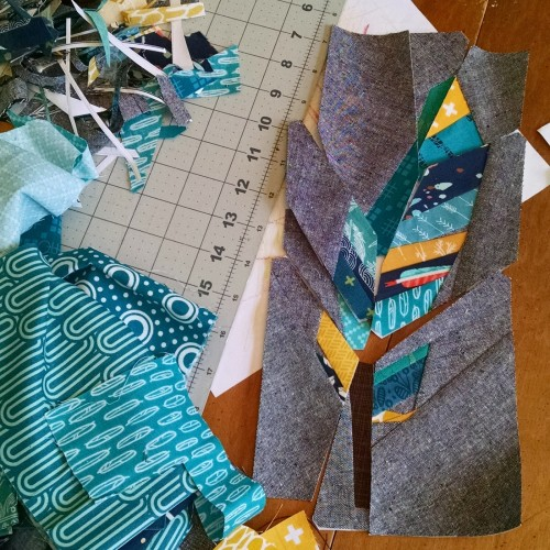Contour Feather - Free Quilt Pattern