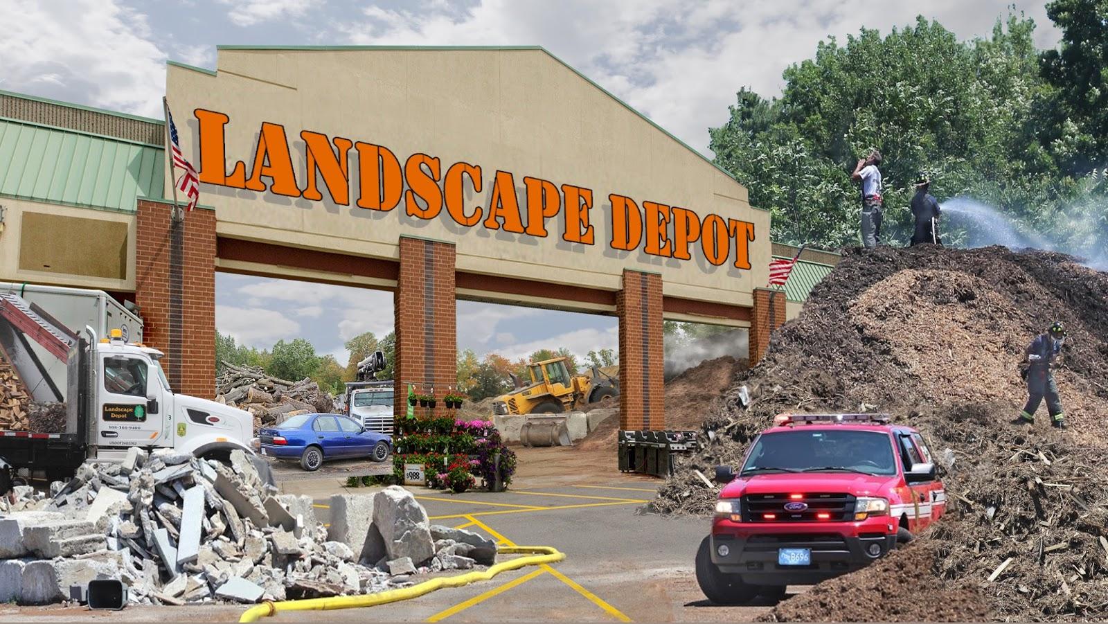 Framingham matters for Landscape depot