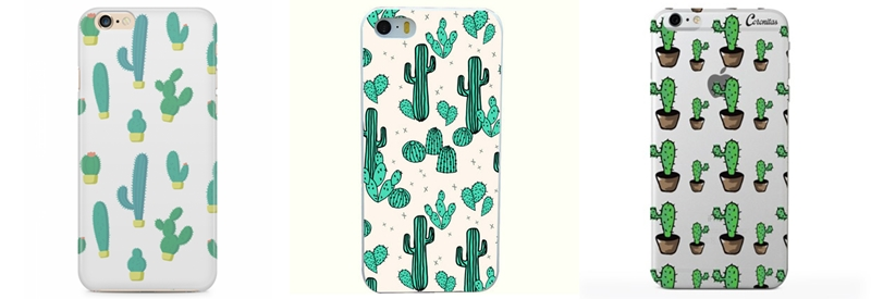 Estampa de cactos case para iPhone