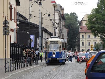 Konstal 102Na, MPK Kraków