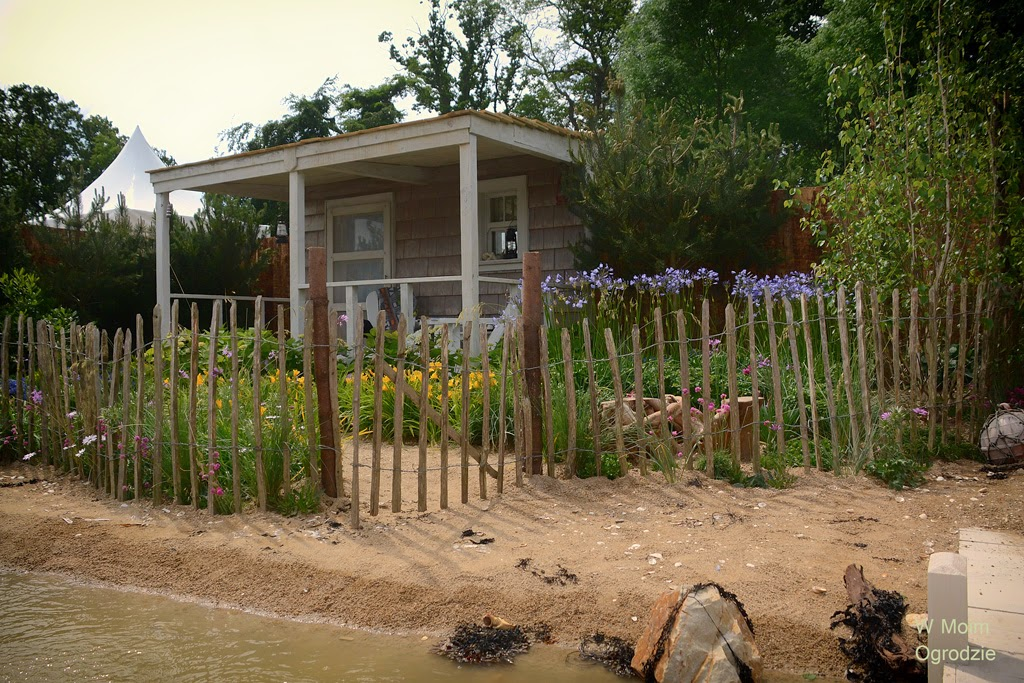 ogród w stylu nadmorskim