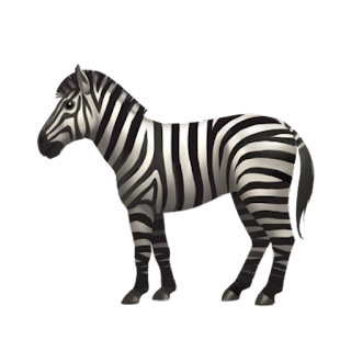 Zebra Apple Emojis for 2017