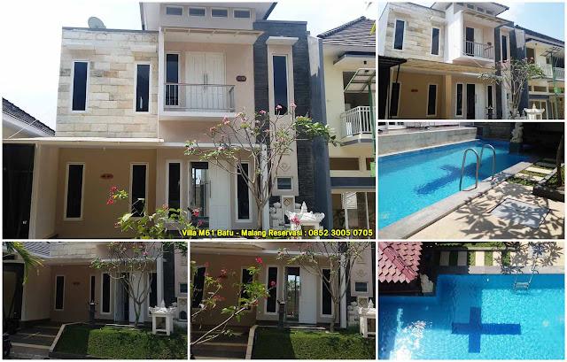 Villa M61 Kota Batu Fasilitas Kolam Renang