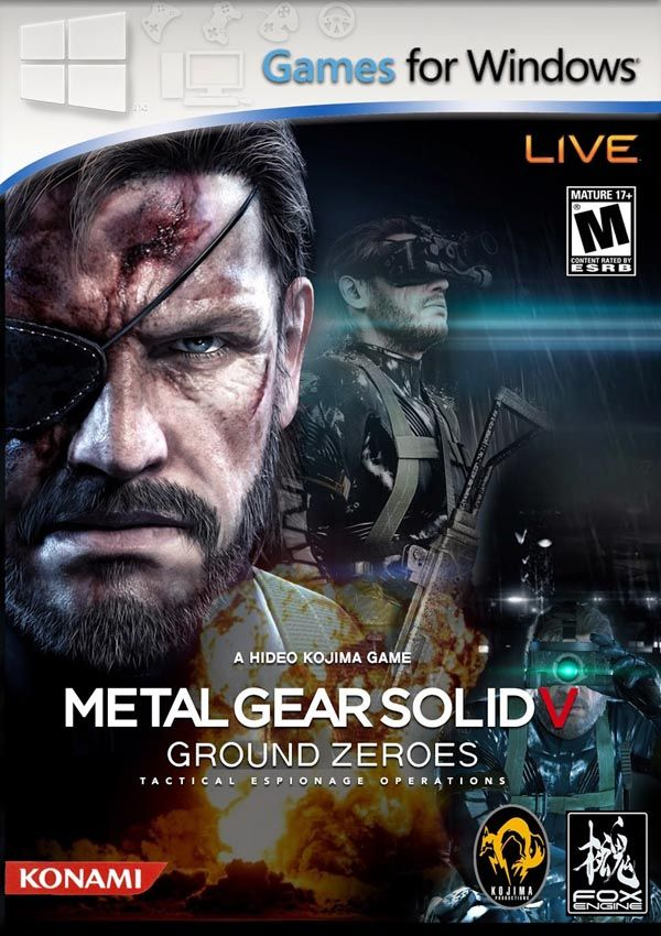 Metal Gear Solid V Ground Zeroes Download Cover Free Game