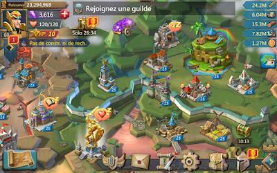 شرح لعبة لوردس موبايل, اسرار لعبة لوردس موبايل, لعبة lords mobile مهكره, منتدى لوردس موبايل, lords mobile مهكرة