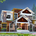 2689 sq-ft 4 bedroom mixed roof house plan