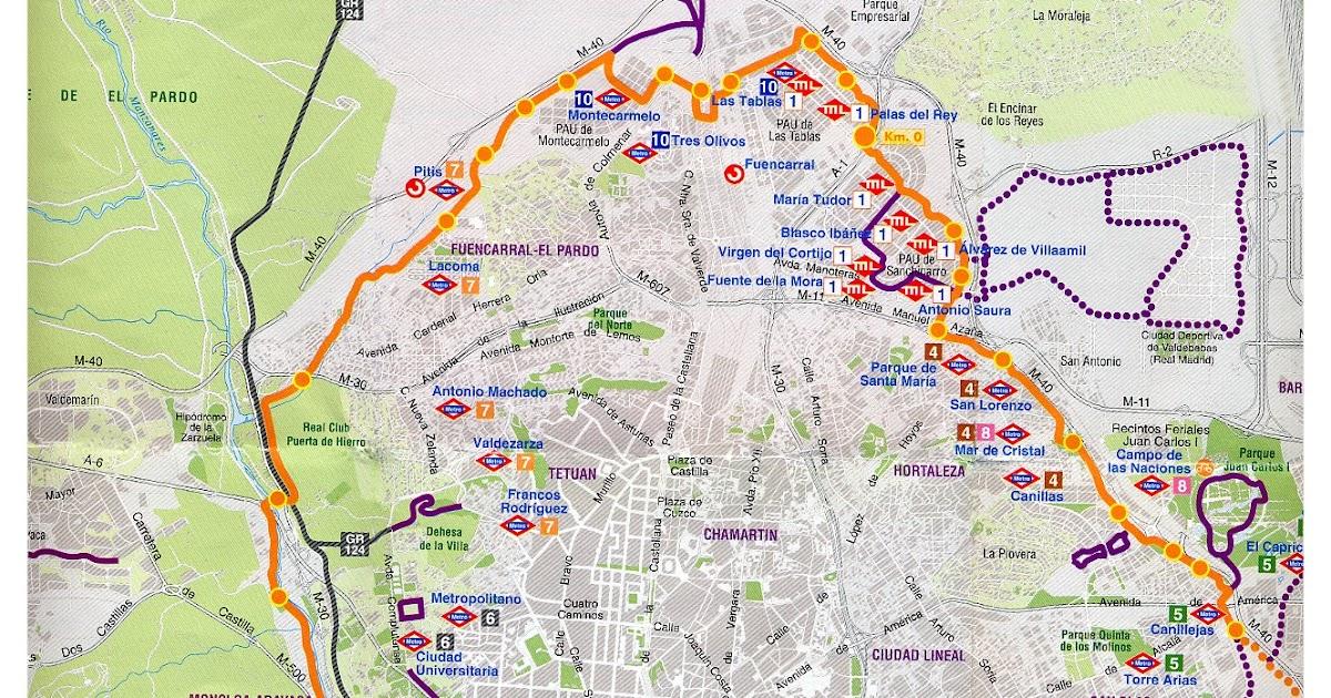 En la monta a anillo verde ciclista de madrid - Anillo verde ciclista madrid mapa ...