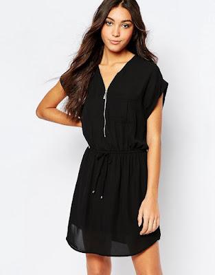 vestidos cortos para señoras