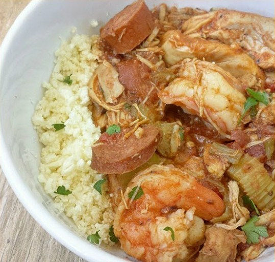 Slow Cooker Gumbo (Whole30, Paleo)