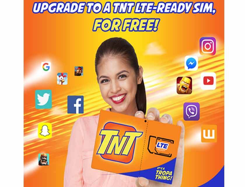 Talk N Text offers Free LTE SIM Card Upgrade to all their