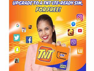 TNT LTE SIM Upgrade