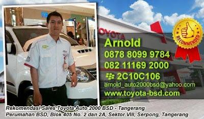 Harga Toyota Tangerang