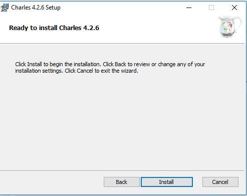 تثبيت برنامج تشارلز كامل