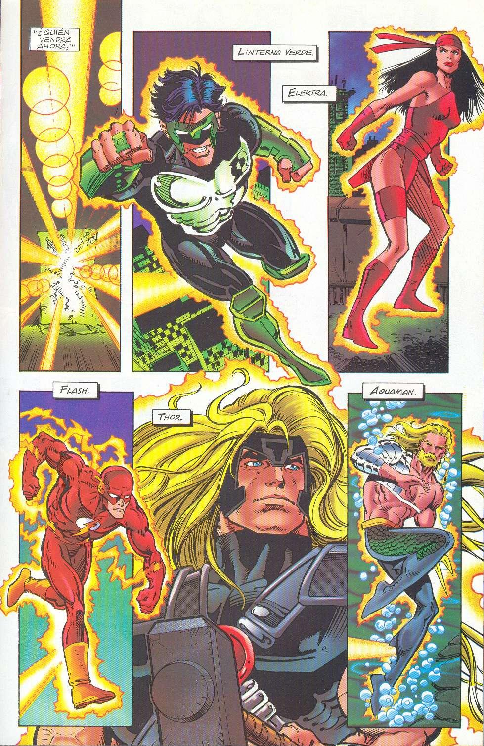 Cómic X Click: Marvel VS DC Comics [Español] [Comic] [Mega]