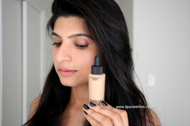 MAC waterweight foundation NC 30 review