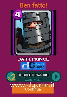 Soluzioni Quiz Clash Royale card livello 28