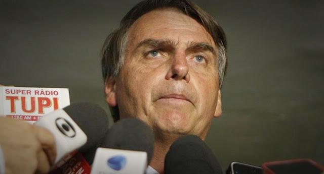 Bolsonaro critica o jornal O Globo