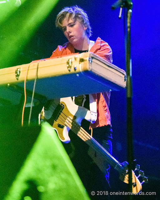 Jack Anderson of Calpurnia at The Phoenix Concert Theatre on October 20, 2018 Photo by John Ordean at One In Ten Words oneintenwords.com toronto indie alternative live music blog concert photography pictures photos