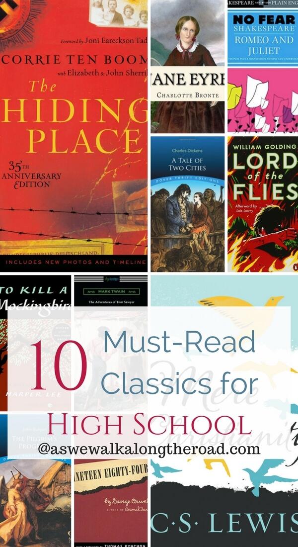 Must read classics for high school