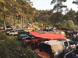 Paket Offroad Camp Tours Gunung Pancar