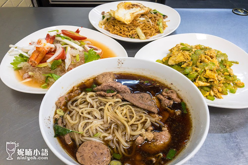 【台北中山區】Kanokwan 老麵攤。爆紅無招牌泰式船麵米粉湯