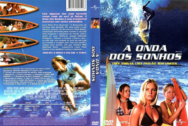 Capa DVD A Onda dos Sonhos