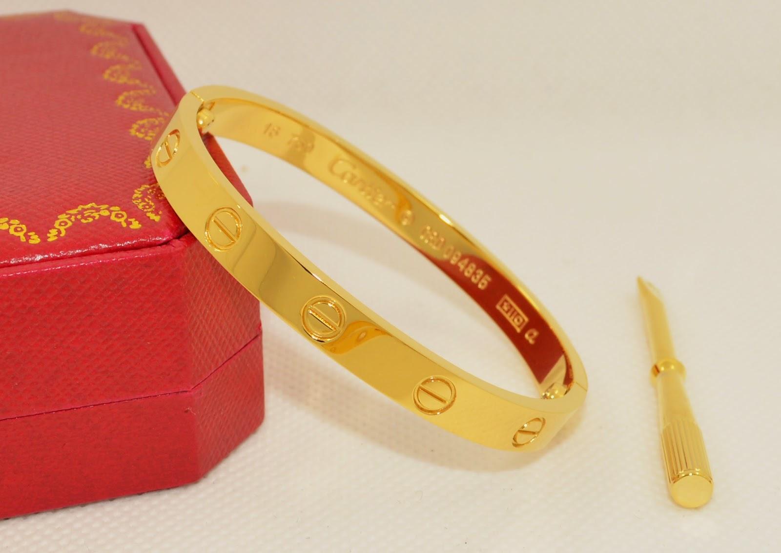 Apple Fashion Top Quality Replica Cartier Love Bracelet