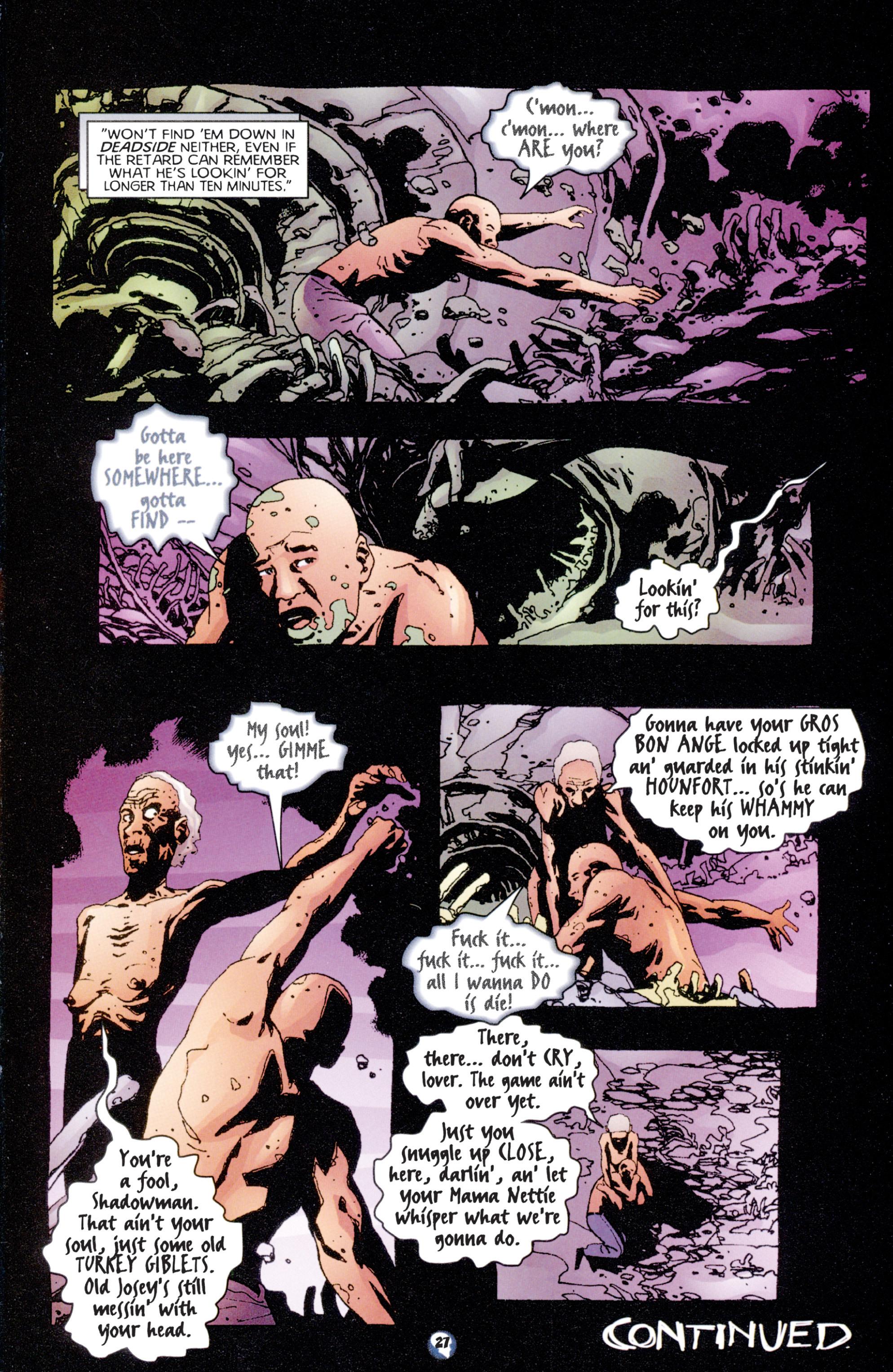 Read online Shadowman (1997) comic -  Issue #7 - 22